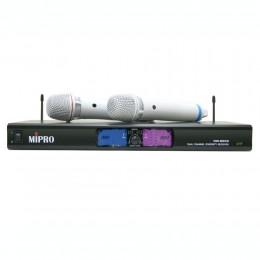 MIPRO MR-9568PRO 小白雙頻自動選訊 UHF 超高頻無線麥克風