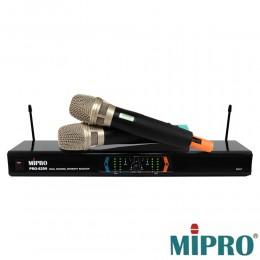 MIPRO UHF PRO-8299 超高頻無線麥克風採用80型高級音頭設計好唱好音色